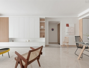 尚舍全案设计 夏日微风般的清新美宅,纵享惬意慢时光!