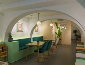 Studio Kota--印尼 Cliq 时尚咖啡店200㎡