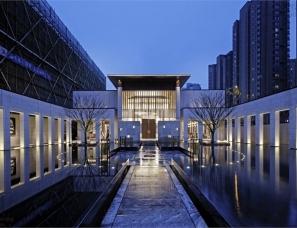 杭州易和室内设计--金地大运河府售楼处