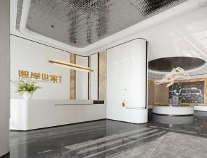 海力设计--广西南宁煕岸世家售楼处