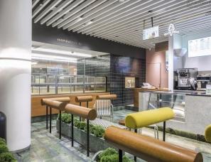 nota architects--喜茶杭州国大城市广场热麦店