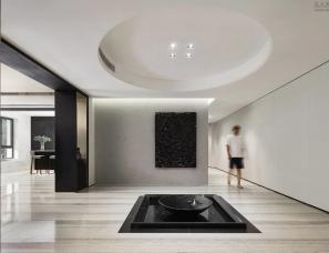 平仄室内设计--雅戈尔上海长风8号1200㎡