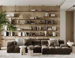 Artem Babayantsu--Simvol Apartment现代公寓,舒适的极简主义
