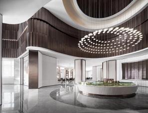 INNEST意巢设计--阳光城镇江尚海茗苑销售厅