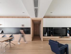 一点设计--温馨住宅172㎡