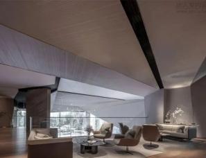 KLID达观国际设计--重庆复地公园和光售楼处