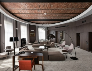 KUDIN architects--乌克兰利沃夫 BANK HOTEL 酒店