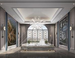 深圳派尚设计--北京天润香墅湾1号销售中心
