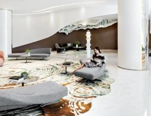 刘荣禄空间设计--杭州中融蓝城Co.C理想城生活艺术馆