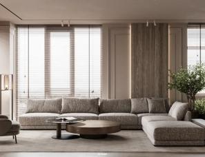 Nteam Design--轻盈现代的四口之家