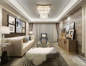 杭州易和设计--优雅生活,金地大运河府D户型样板房