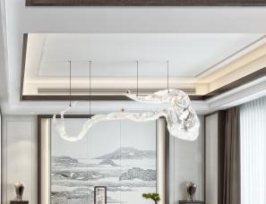 现代中式样板房设计