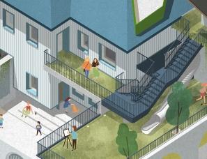 立木设计--心跳城堡,老房子里的万科儿童营地