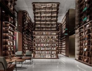 耕文设计--华侨城钟书阁图书馆
