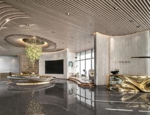 RWD黄志达设计+香榭蒂设计--大发·成都璞悦珑山售楼处