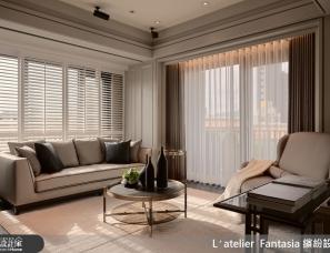 缤纷设计江欣宜设计--23.4 坪幻化出总统套房级的3房2厅