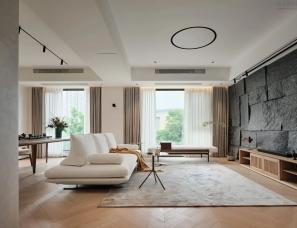陈群玲空间设计--宁波万科堂院180㎡私宅