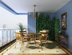 阳台花园设计案例效果图