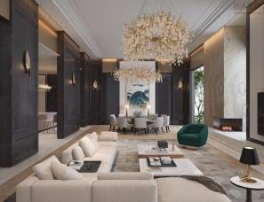 孟也设计--九章别墅3100m²设计方案