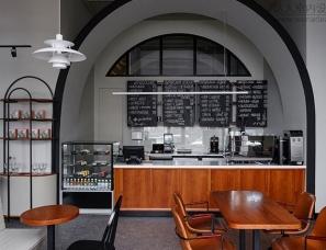 STUDIO LYNX--俄罗斯秋明拱门咖啡馆