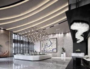 EASE艺烁设计--渝高星洲销售中心+两套样板间