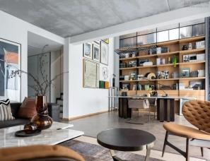 布鲁盟室内设计--华侨城·原岸 D4样板间