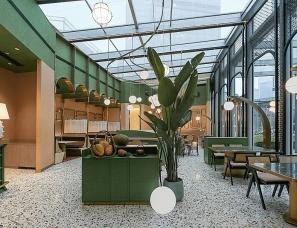 润舍纳图设计--成都IFS箐叶越南料理餐厅