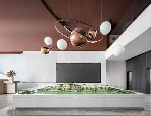 共生形态+羽果设计--三盛·徐州汝悦未央售楼处