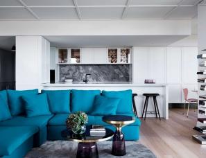"""Studio Tate设计-- M Residence""""洛杉矶魅力""""住宅"""