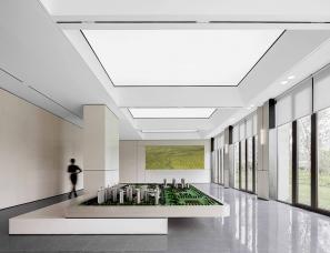 久度设计+元禾大千--济南力高雍湖郡未来城售楼处