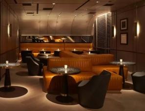 雅布设计--纽约半岛酒店CLEMENT餐厅
