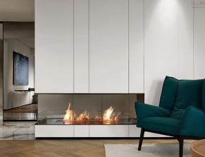T10+设计联盟--格调气质美宅,经典的现代优雅演绎200㎡