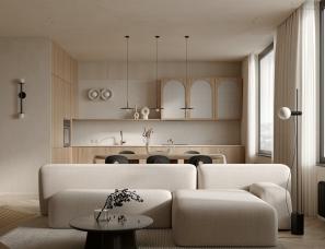 极简公寓设计