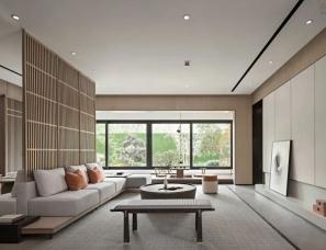 零次方设计--新中式样板间,禅意东方,自然之美