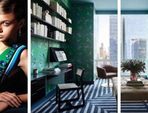 高级灰+绿色,觅得一方优雅,为空间谱写万种风情