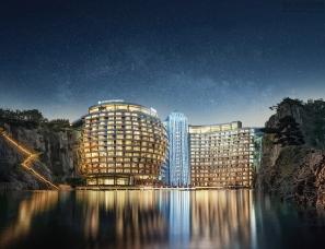 CCD设计--上海佘山世茂深坑洲際酒店[完整版]