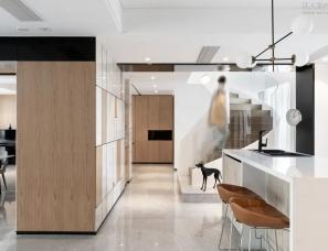 TESI他石设计--江山万里复式公寓