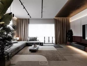 波兰Yevhen Zahorodnii--华沙极简高端私宅