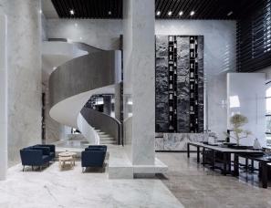 G-ART集艾设计--沣东绿地新里城售楼处