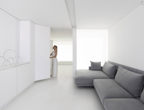 Fran Silvestre Arquitectos--白色阁楼