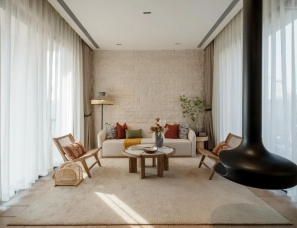 元禾大千+戴维空间设计--昆明金地自在城样板间2套