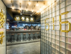 刘德泰设计--616麦子牛肉火锅酒吧