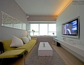 梁志天设计作品之碧海蓝天B 单身公寓样板房