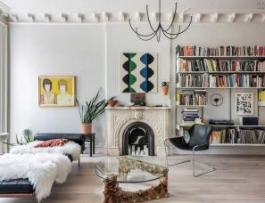 von DALWING--这个优雅艺术的家,有着最好看的石膏线