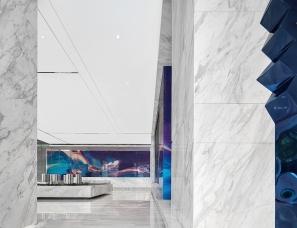 易和设计--杭州悦风华销售展示中心360㎡