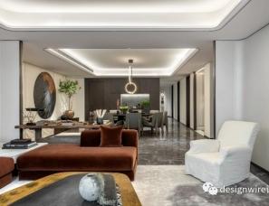 HWCD设计+世尊软装--上海豪宅新地标 瑞安翠湖天地样板房