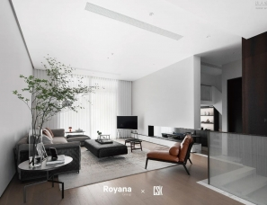 Royana X 陈芍克设计--温州国悦府300m²私宅
