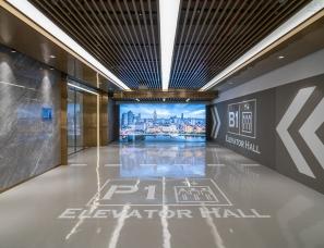 大观建筑设计--中海城市广场钻石湾地下车库
