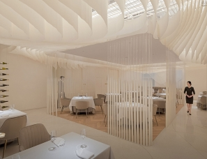 GB SPACE高白空间设计--Lachansonnière蘭颂餐厅