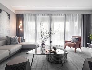 李玮珉设计+其然设计--绿城春月锦庐10#F2样板房